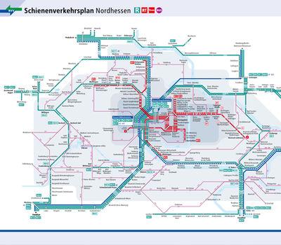 Liniennetz Nordhessen Nvv